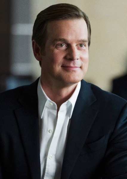 Peter Krause as William McKinley in American Crime Story: The Assassination of William McKinley
