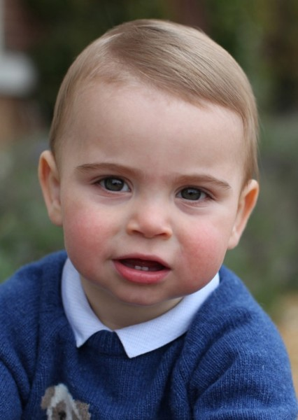 Prince Louis of Cambridge as Jack-Jack Parr in The Incredibles - Jack-Jack Attack (Live Action)
