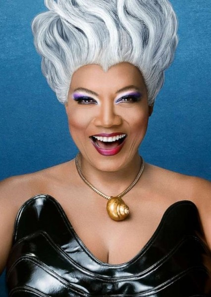 Queen Latifah as Ursula in The Little Mermaid (Live Action African American Version)