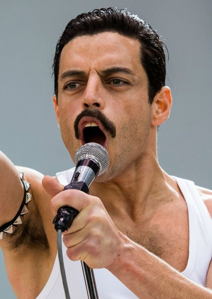 Rami Malek as Freddie Mercury in Rockstars Biopics