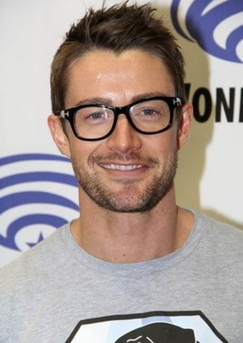 Robert Buckley as Booster Gold in The Multiverse: Part II (2042)