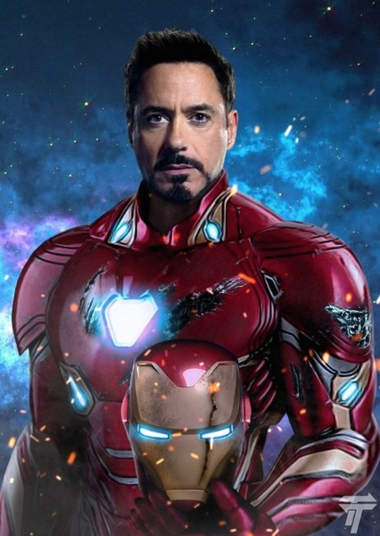Robert Downey Jr. as Iron Man in MCU