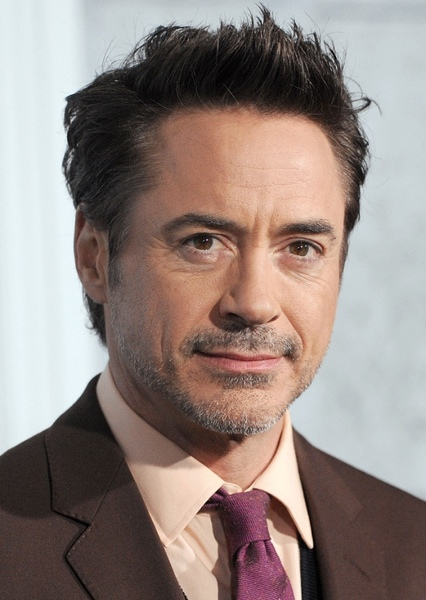 Robert Downey Jr. as Tony stark in Iron man 4