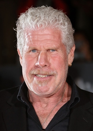 Ron Perlman as Goldar in Hasbro's Power Rangers