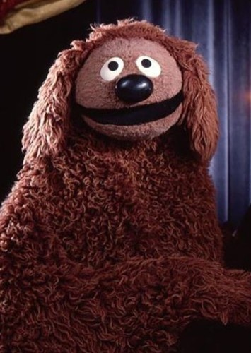 Rowlf the Dog as Obi-wan Kenobi in Muppets Star Wars