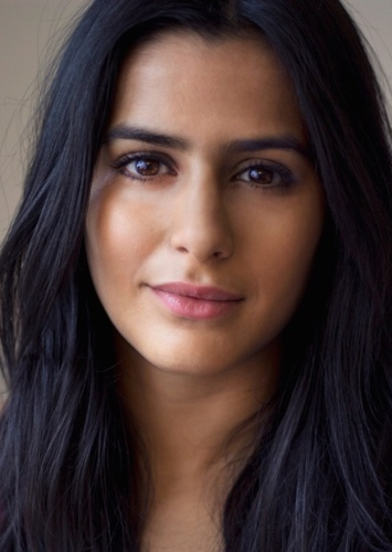 Sair Khan as Goddess With the Resplendent Hair in Papyrus