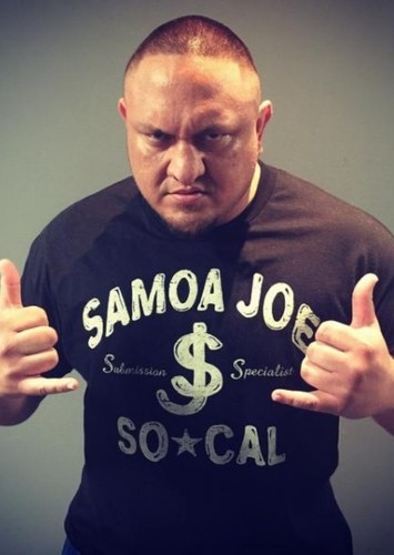 Samoa Joe as Machamp in PokeMon