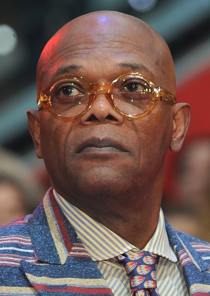Samuel L. Jackson as Cobra bubbles in Characters I want Samuel l Jackson to play