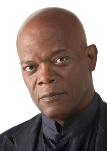 Samuel L. Jackson as Nick Fury in Spider-Man:Attack on Iron cross
