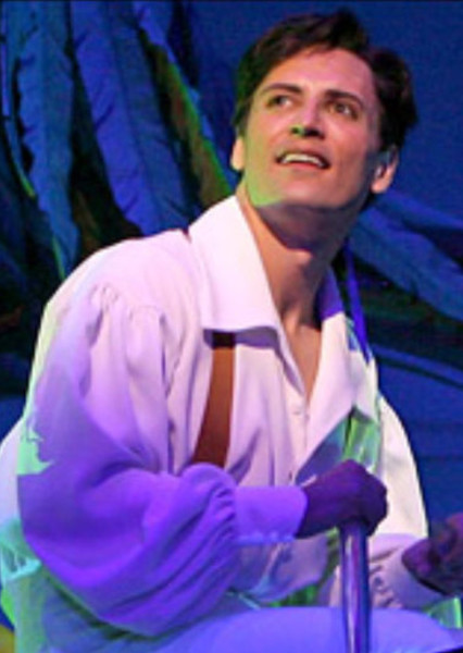 Sean Palmer as Prince Eric in The Little Mermaid: The Musical
