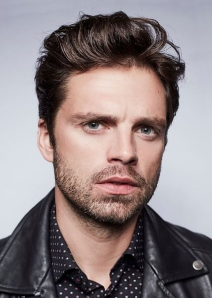 Sebastian Stan as Evan Greenwood in An American Christmas in England