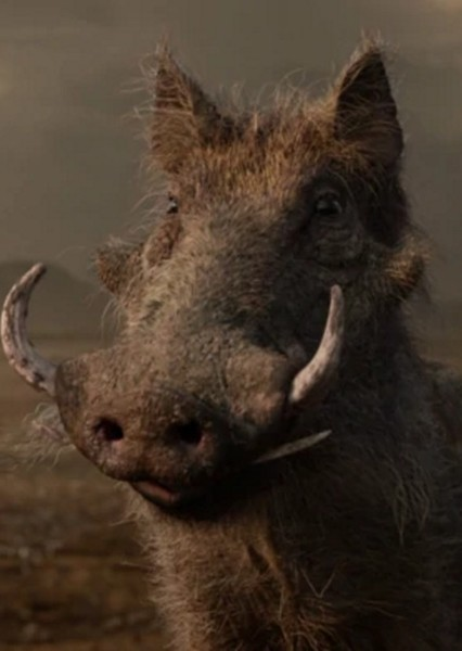 Seth Rogen as Pumbaa in The Lion King