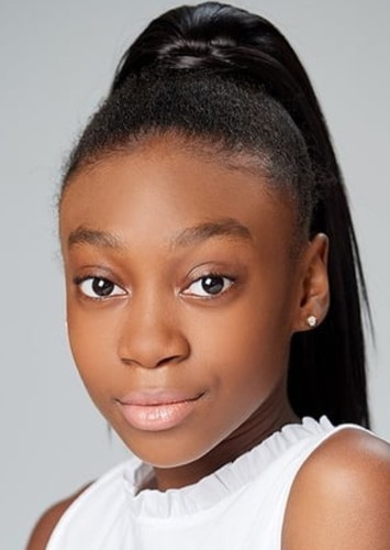 Shahadi Wright Joseph as Izzy Newton in Izzy Newton and the S.M.A.R.T. Squad