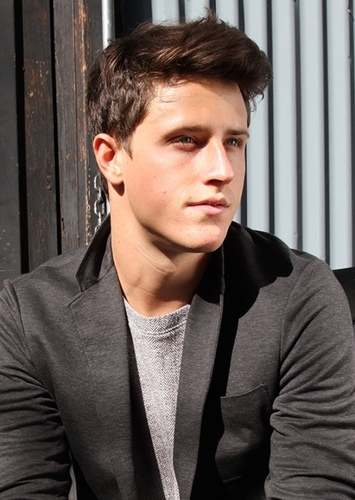Shane Harper as Bertholdt Hoover in Attack On Titan