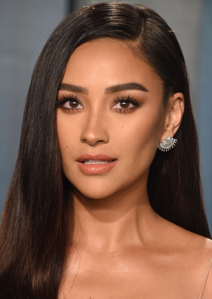 Shay Mitchell as Pocahontas in Live Action Disney Princess and Princes