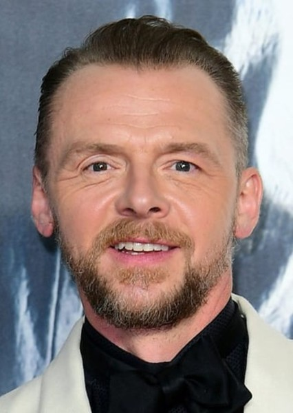 Simon Pegg as Nearly Headless Nick in Harry Potter