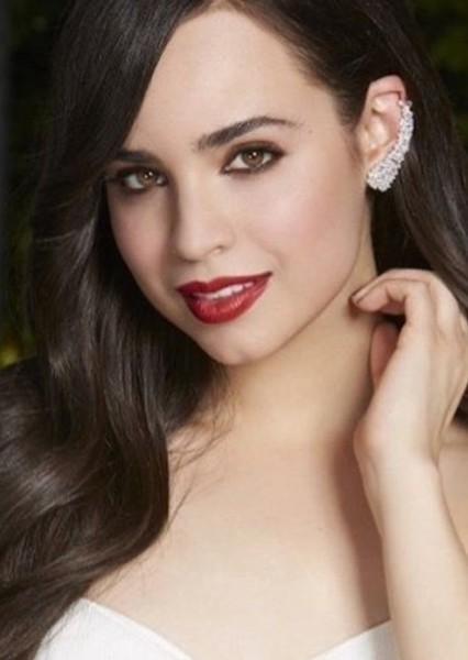 Sofia Carson as Young Amberly in The Selection Series