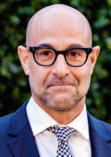 Stanley Tucci as Dr. Thaddeus Sivana in Justice League: Virtual Reality