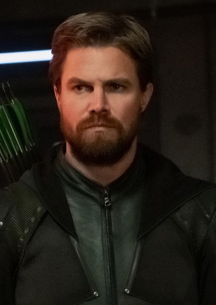 Stephen Amell as Oliver Queen in Green Arrow