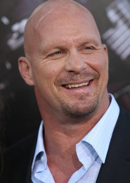 "Steve Austin as Deezel ""Pork-Chop"" Riggs in Sonic and the Acceleracers: Ignition"
