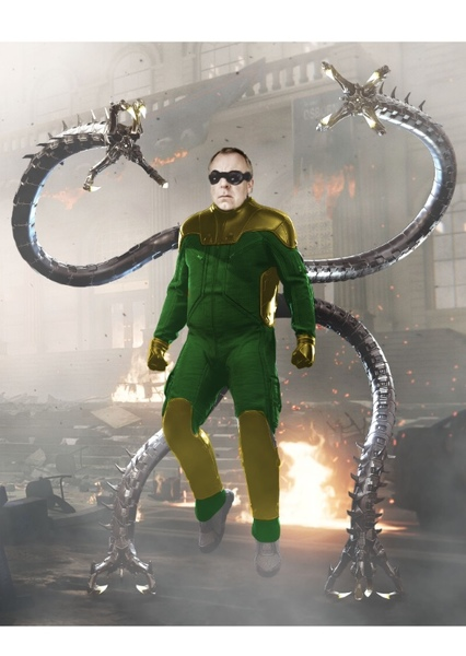 Steve Pemberton as Actor#4 in Actors Who Should Play Doctor Octopus For Marvel Cinematic Universe