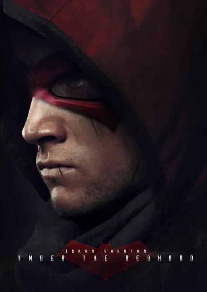 Taron Egerton as Red Hood in The Perfect Batman Movie