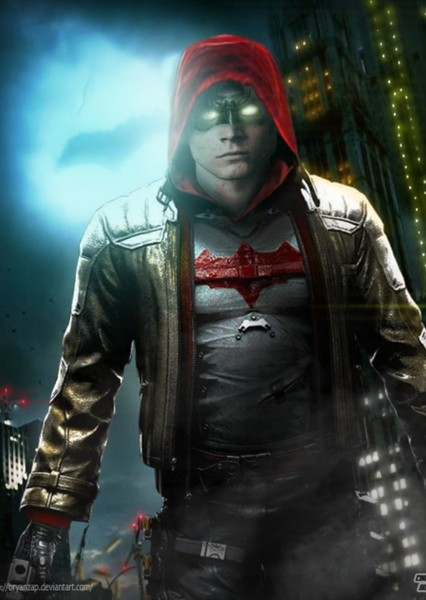 "Taron Egerton as Red Hood in ""The Batman"" fancast"
