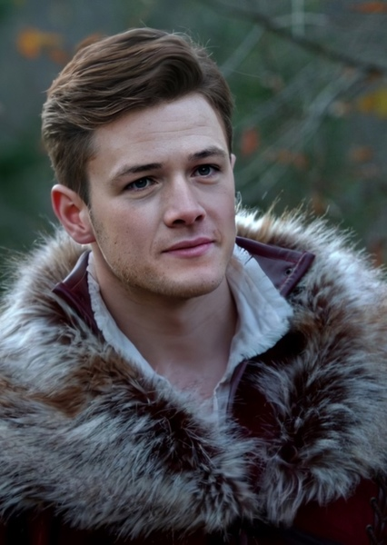 Taron Egerton as Prince Charming in Red Rose