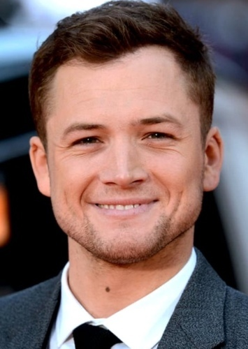 Taron Egerton as Red Hood in DC Universe Reboot - Fan Casting