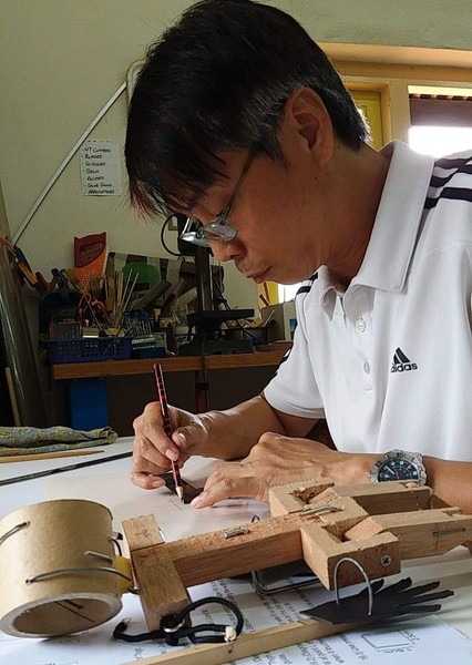 Tay Kong Hui as Charlie Chan Hock Chye in The Art of Charlie Chan Hock Chye