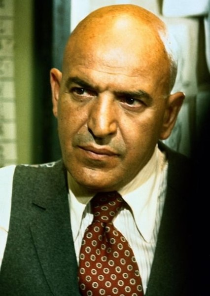 Telly Savalas as Baron Wolfgang von Strucker in 80's Agents of SHIELD Movie Trilogy