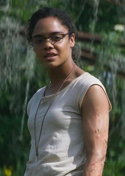 Tessa Thompson as Selina Kyle in THE DARK KNIGHT Dreamcast