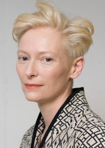 Tilda Swinton as David Bowie in Celebrity Biopics