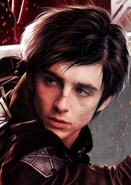 Timothée Chalamet as Eren Yeager in Attack On Titan (Netflix live action)