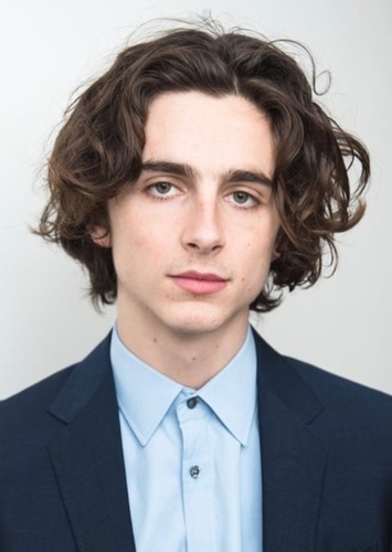 Timothée Chalamet as Johnny Depp in Celebrity Biopics