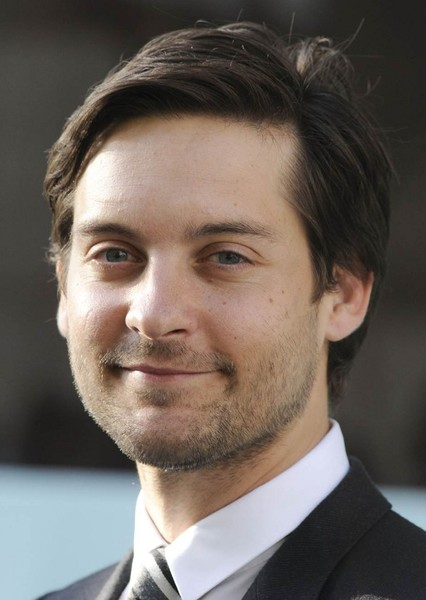Tobey Maguire as Peter Parker in Friendly Neighborhood Spider-Man