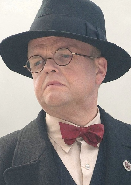 Toby Jones as Maj. Arnold Toth in Indiana Jones and the Raiders of the Lost Ark