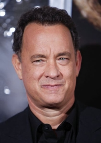 Tom Hanks as Blaine Riker in Superhero Movie (Done Differently)