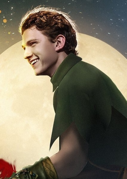 Tom Holland as Peter Pan in Peter Pan