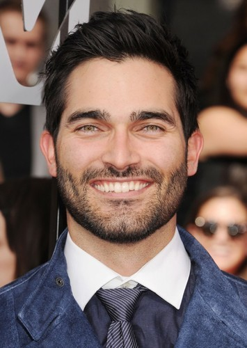 Tyler Hoechlin as Lance Landers in Superhero Movie (Done Differently)