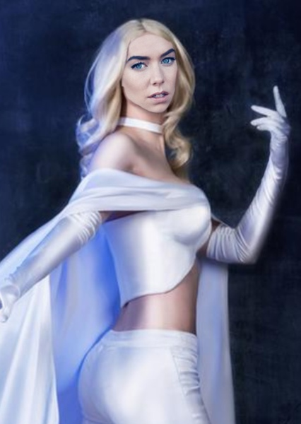 Vanessa Kirby as Emma Frost in Marvel Cinematic Universe