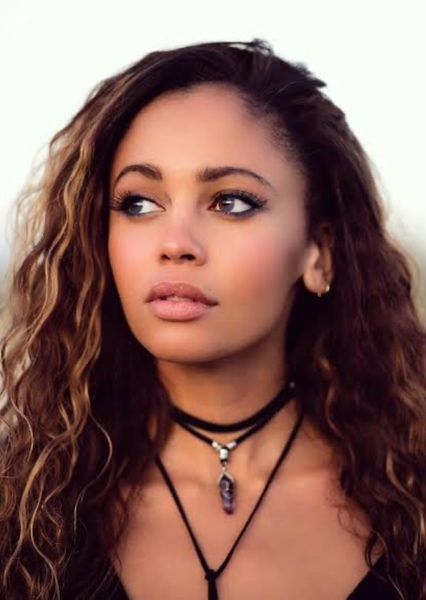 Vanessa Morgan as Callie Franklin in $hi+ The Father Says