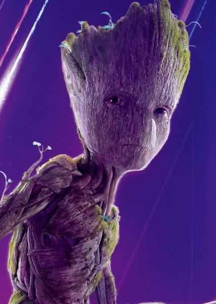 Vin Diesel as Groot in Thor: Love and Thunder
