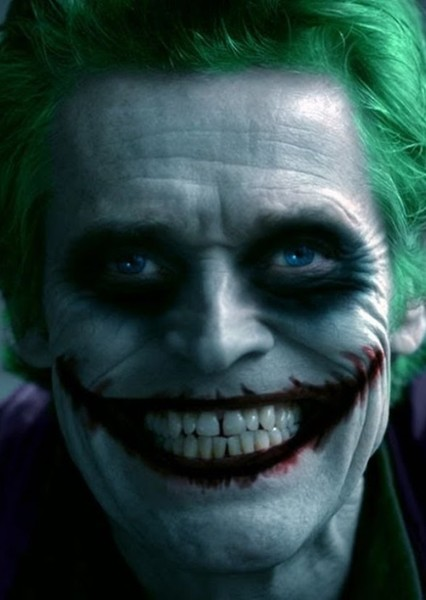 Willem Dafoe as The Joker in The Dark Knight Returns