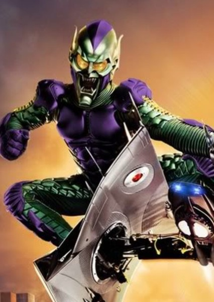 Willem Dafoe as Green Goblin in Spider Man : The Sinister Six