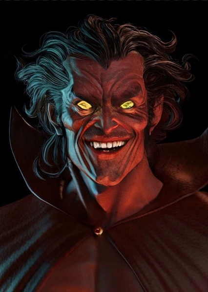 Willem Dafoe as Mephisto (Marvel) in Superheroes and Supervillains