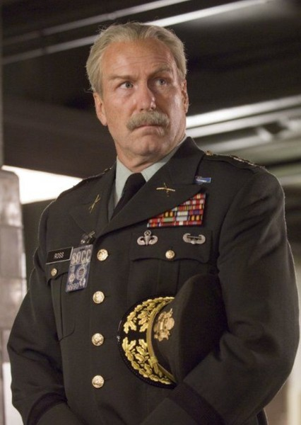 William Hurt as General Thunderbolt Ross in Falcon And The Winter Soldier