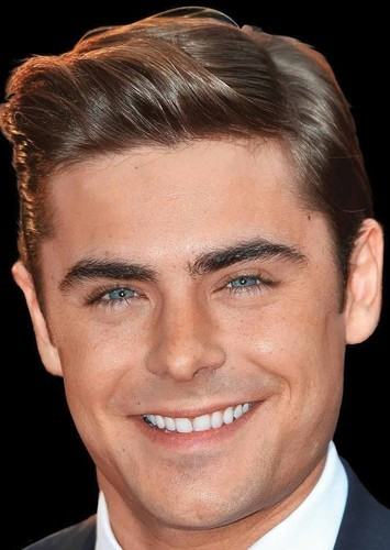 Zac Efron as Johnny Storm in The Fantastic Four