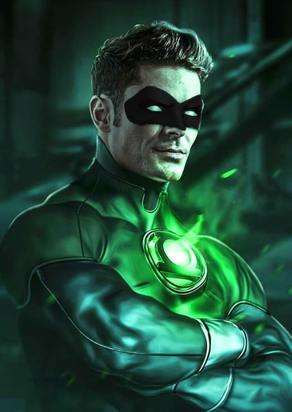Zac Efron as Kyle Rayner in Lantern Corps