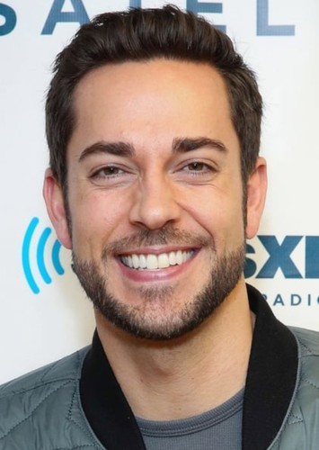 Zachary Levi as Shazam in DC Characters